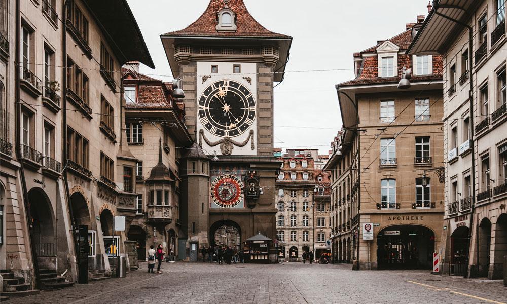 Capital da Suíça Berna Morar na Suíça