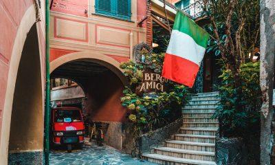 Bandeira da Itália Italexit União Europeia