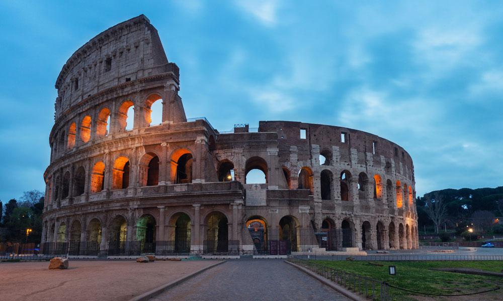 Coliseu Itália tour virtual na Europa
