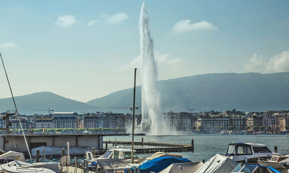 Genebra Suíça Viajar para a Suíça
