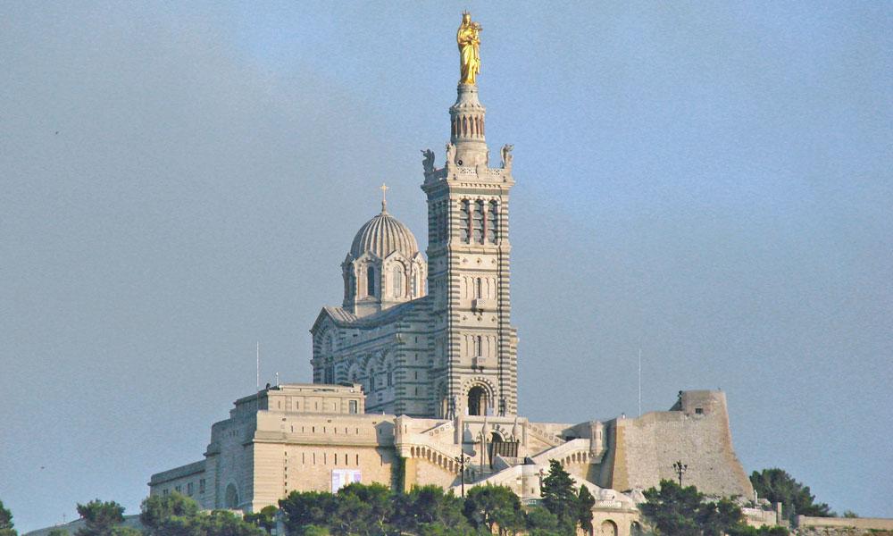 Basílica de Notre Dame Marselha