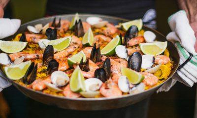 Comidas típicas da Espanha Paella