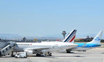 voos da Europa air france pandemia covid-19