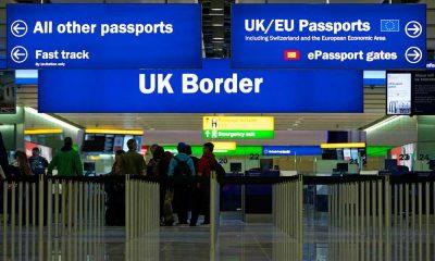 Carta Convite imigração aeroporto