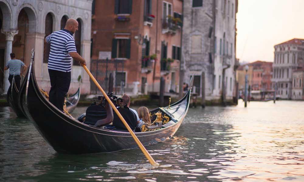 lua de mel na itália veneza