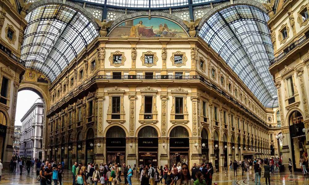 milão itália galeria vittorio emanuele