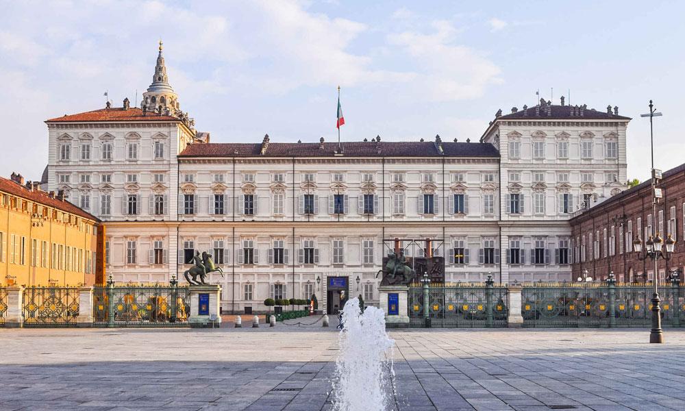 palácio real de torino turim itália